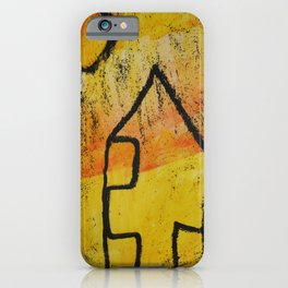 HOUSE and SUN iPhone Case
