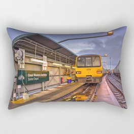 Shed Reflections Rectangular Pillow