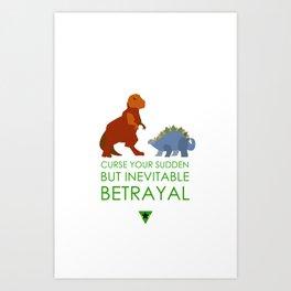 firefly betrayal Art Print