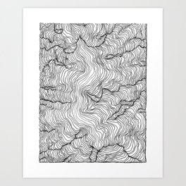 Incline Art Print
