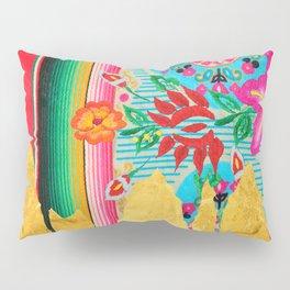 Gold Dipped Boho Serape Dream Pillow Sham