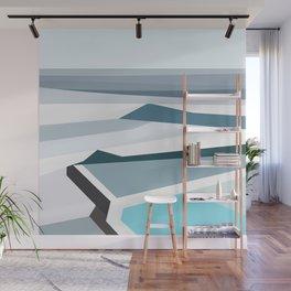 Geometric Bondi beach, Sydney Wall Mural