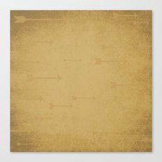 Loxley in Wheat - Arrows Canvas Print