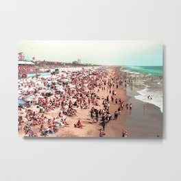 Huntington Beach, CA Metal Print