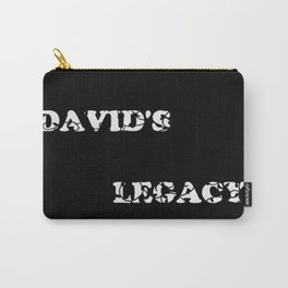 David's Legacy Scattered Leaves (Inverted) Carry-All Pouch