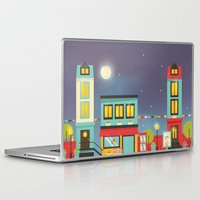 street Laptop & iPad Skins featuring street by Isabel Sousa