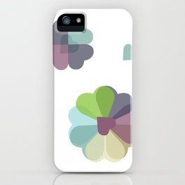 Heartflowers1 iPhone Case