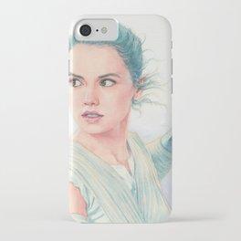 Rey watercolor iPhone Case