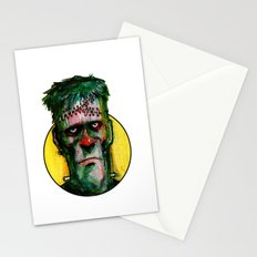 Frankensteins Monster is tired Stationery Cards