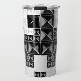 studded and tetrified b Travel Mug
