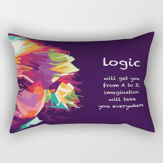 logic Rectangular Pillow