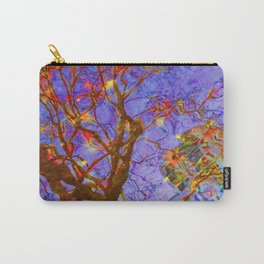 Urban Painting 123 - Purple Carry-All Pouch
