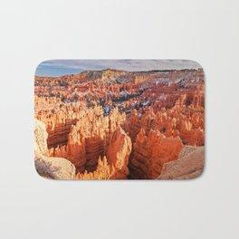 Sunset Point at Bryce Canyon Panorama Bath Mat