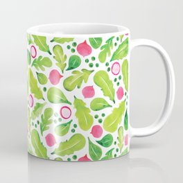 Green Salad pattern Coffee Mug