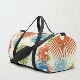 Retro Flower Pattern #society6 #buyart #decor Duffle Bag