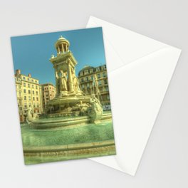 Lyon Fountain Jacobins Stationery Cards