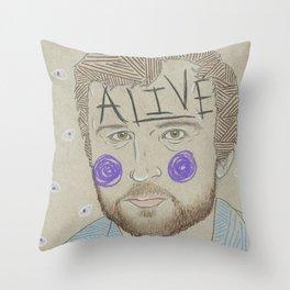 Max Bemis Throw Pillow