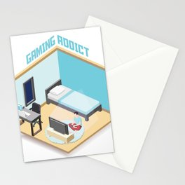 Gaming Addict (2020) Stationery Cards