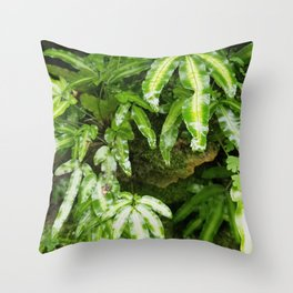 The Fernery Throw Pillow