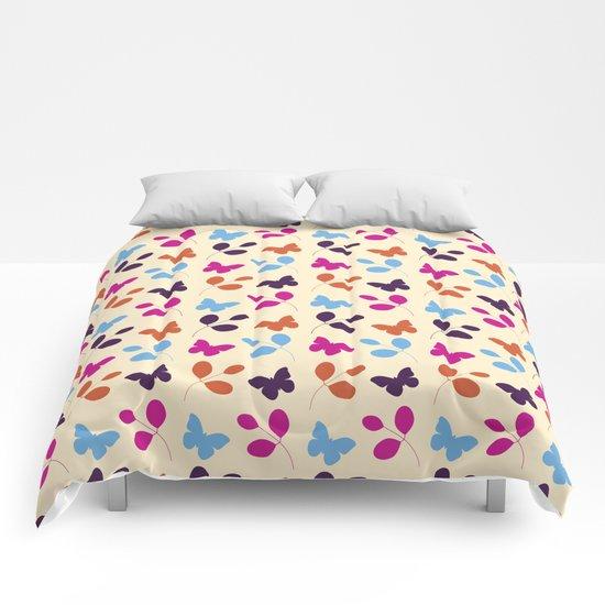 Butterflies #2 Comforters