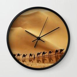 Rub' Al-Khali desert Oman Wall Clock