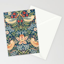 Vintage fine American fine art,  The strawberry thieves pattern by William Morri Stationery Cards