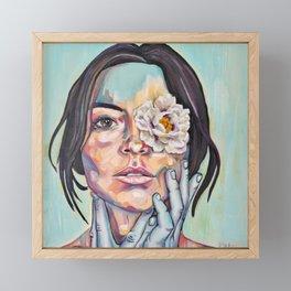 Blinded by beauty Framed Mini Art Print