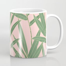 Elegant bamboo foliage design Coffee Mug
