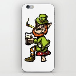 Wasted Leprechaun iPhone Skin