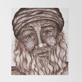 Wisdom Keeper Brown #25 (Universal Love) Throw Blanket