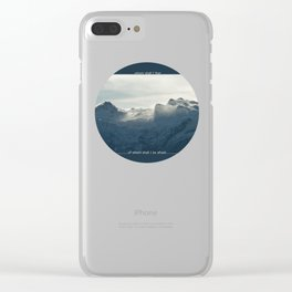 Powerful Clear iPhone Case