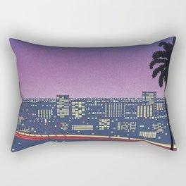 Hiroshi Nagai Vaporwave Shirt Rectangular Pillow