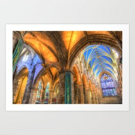 The Cathedral Atmosphere Art Print