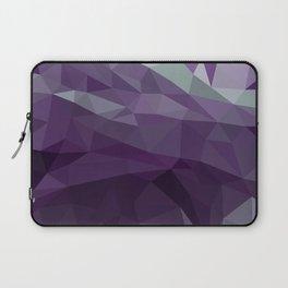 Purple Vectors Laptop Sleeve