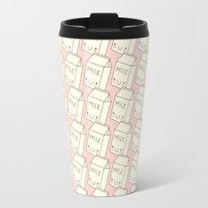 Cute Milk (PINK) Travel Mug