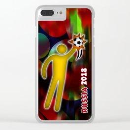 GoalKeeper Clear iPhone Case