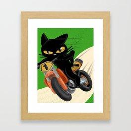 Top rider Framed Art Print