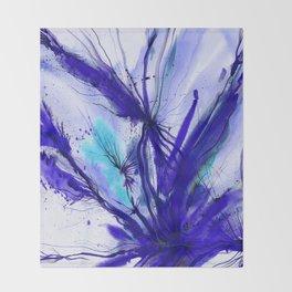 Organic Ecstasy No. 48e by Kathy Morton Stanion Throw Blanket