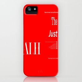 The Impartial III iPhone Case