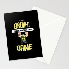 Break-It Bane Stationery Cards