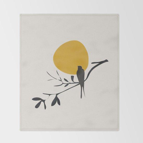 Bird and the Setting Sun by cityart7