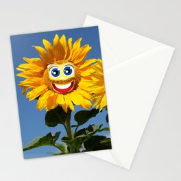 Sonnenblumenfrau und Sonnenblumenmann Stationery Cards