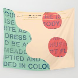 lie cold Wall Tapestry