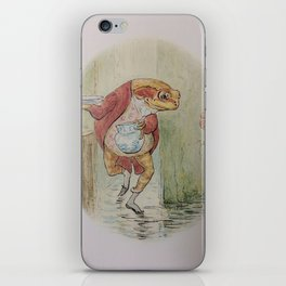 Jeremy Fisher by Beatrix Potter iPhone Skin