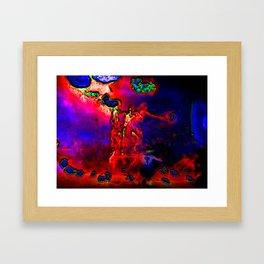 Fire rite 2000 Framed Art Print