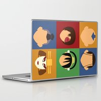 aang Laptop & iPad Skins featuring Team Avatar by Adrian Mentus