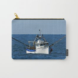 Fishing on the Sea 3 of 3 Starboard side view Carry-All Pouch