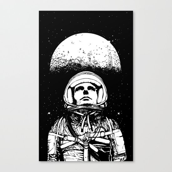 Looking for Space Canvas Print