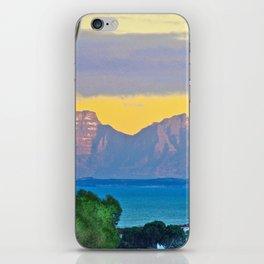 Open Window Sunrise False Bay iPhone Skin