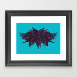 Crowberus Reborn Framed Art Print